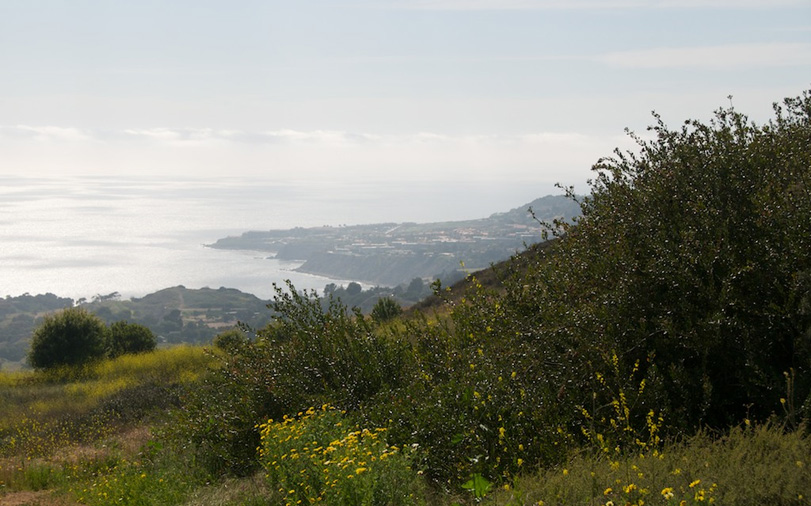 20 acre lot on Portuguese Bend in Rolling Hills, CA